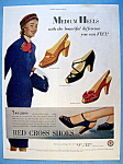 Click here to enlarge image and see more about item 13779: Vintage Ad: 1951 Red Cross Shoes
