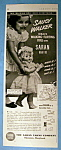 Vintage Ad: 1951 Ideal's Saucy Walker Doll