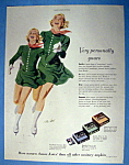 Click to view larger image of Vintage Ad: 1951 Kotex Sanitary Napkins By Tom Hall (Image1)