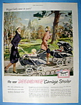 Vintage Ad: 1951 Thayer Dreamliner Carriage Stroller