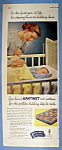 Vintage Ad: 1951 Kantwet Crib Mattress