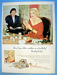 Vintage Ad: 1952 Avon Cosmetics with Dorothy Kirsten