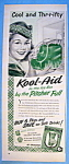 Click to view larger image of Vintage Ad: 1952 Kool-Aid (Image1)