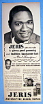 Click here to enlarge image and see more about item 13841: Vintage Ad: 1952 Jeris Hair Tonic with Hank Thompson