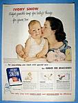 Vintage Ad: 1954 Ivory Snow