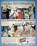 Click to view larger image of Vintage Ad: 1957 Schlitz Beer (Image1)
