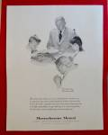 1960 Massachusetts Mutual Insurance By Norman Rockwell