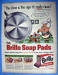 Click to view larger image of Vintage Ad: 1960 Brillo Soap Pads (Image1)