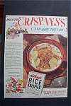 1940 Kellogg's Rice Krispies Cereal w/ the 3 Guys