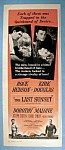 Vintage Ad: 1961 The Last Sunset