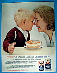 Click to view larger image of Vintage Ad: 1963 Quick Quaker Oats (Image1)