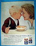 Vintage Ad: 1963 Quick Quaker Oats