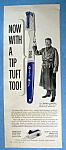 Click to view larger image of Vintage Ad:1963 Pro Double Duty Toothbrush w/A. Godfrey (Image1)
