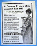 Vintage Ad: 1914 Pond's Vanishing Cream