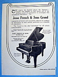 Vintage Ad: 1916 Jesse French & Sons Grand Piano