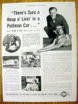 Vintage Ad: 1937 Pullman with Edgar A. Guest (Poet)