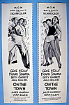 Click to view larger image of Vintage Ad: 1949 On The Town with Gene Kelly (Image1)
