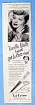 Vintage Ad: 1950 La Cross with Lucille Ball
