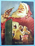 Vintage Ad: 1950 Coca Cola with Santa Claus