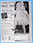 Vintage Ad: 1951 Baby Blue Eyes Miracle Skin Doll