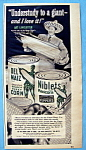 Vintage Ad: 1951 Green Giant Corn w/ Art Linkletter