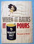 Vintage Ad: 1951 Morton Salt