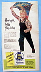 1951 Blue Bell Children's Play Clothes with Little Boy