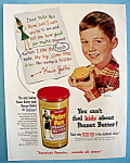 Vintage Ad: 1951 Derby Peter Pan Peanut Butter