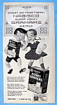 Vintage Ad: 1951 Nabisco Honey Graham