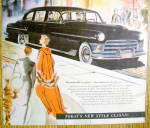 Click to view larger image of Vintage Ad: 1950 Chrysler Crown Imperial Limousine (Image2)