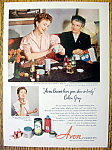 Vintage Ad: 1952 Avon Cosmetics with Coleen Gray
