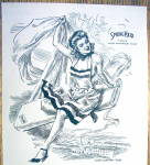 Click to view larger image of 1943 Springmaid with Woman By James Montgomery Flagg (Image2)