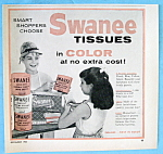 Vintage Ad: 1954 Swanee Tissues