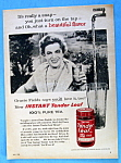 Click to view larger image of Vintage Ad: 1960 Tender Leaf Tea with Gracie Fields (Image1)