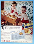 Click here to enlarge image and see more about item 14082: Vintage Ad: 1948 Nucoa Margarine