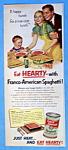 Vintage Ad: 1951 Franco American Spaghetti
