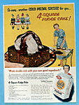 Click to view larger image of Vintage Ad: 1954 Gold Medal Flour (Image1)