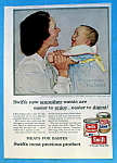 Click to view larger image of 1956 Swift's Meats with Mom & Baby By Norman Rockwell (Image1)
