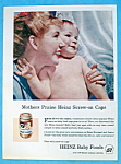 Vintage Ad: 1961 Heinz Baby Food