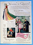 Click here to enlarge image and see more about item 14136: Vintage Ad: 1946 Krene