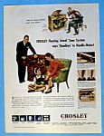 Click here to enlarge image and see more about item 14139: Vintage Ad: 1946 Crosley Floating Jewel Tone System