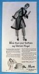 Vintage Ad: 1946 Mum