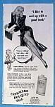 Vintage Ad: 1946 Cashmere Bouquet Talc
