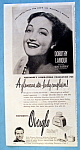 Vintage Ad: 1946 Westmore Make Up with Dorothy Lamour