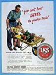 Vintage Ad: 1946 United States Steel