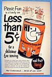 Vintage Ad: 1953 Hi C Orange Drink
