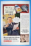 Vintage Ad: 1951 Camel Cigarettes with Buddy Rogers