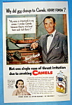 1952 Camel Cigarettes with Henry Fonda