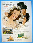 Vintage Ad: 1947 Camay Soap