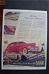 1940 Nash Cars w/Great Picture of a Red Nash Automobile
